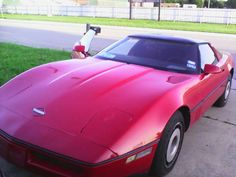 85 Chevy corvette