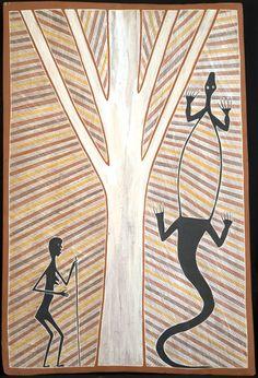 Terry NGAMANDARA_Jikara and Gachalan_Art aborigene australien