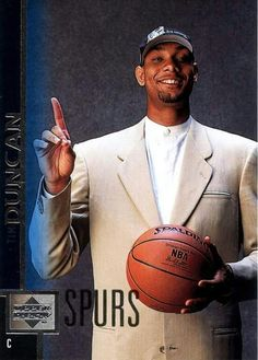 Spurs Tim Duncan I Love Basketball, Basketball Legends, Nba Basketball, San Antonio Spurs, Famous Black People, Wake Forest University, Power Forward, Nba Fashion, Different Sports