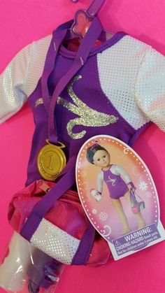 "MY LIFE AS A GYMNAST TRAINER Gym Girl 18"" Doll American Girl Outfit * Rare * New #ClothingAccessories"