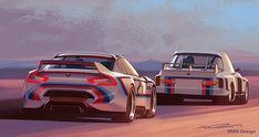 独BMW、北米進出40周年を記念した「3.0 CSL オマージュR」 - Car Watch