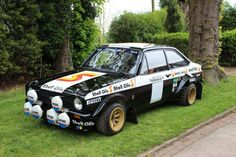 GC- Ari Vatanen's Black Beauty, the ultimate Escort.Quite simply the stuff that dreams are made of. Who needs supercars when this RS1800 was often referred to as being 'undriveable'. Piloted by the rallying God that is Ari Vatanen, 'Black Beauty' was one of the final Works Mk2 Escorts and without doubt the most powerful – packing 10,000rpm and around 270 thoroughbred BDG horsepower. I'd like to build a replica and then revel in the glory.