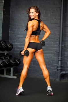 I like her calves! - more at http://studio99net.net/burn-the-fat-feed-the-muscle