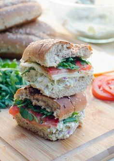 chicken salad sandwiches pesto chicken salad sandwiches from valerie s ...