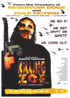 Killing Zoe , starring Eric Stoltz, Julie Delpy, Martin Raymond, Eric Pascal Chaltiel. Zed has only just arrived in the beautiful Paris and already he's up to no good. Having just slept with a call girl... #Crime #Drama #Thriller