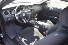 2014 #Ford Mustang Interior #WhiteMarshFord
