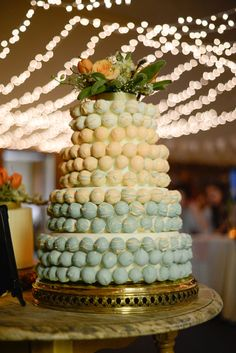 The Cake Ball Tower Was A Hit