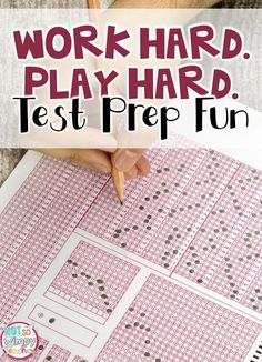 Test Prep Fun! My students actually begged for more! It was a great way to review math and reading standards.