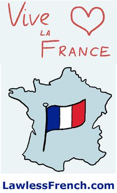 Vive la France ! What does it really mean how is it pronounced?   https://www.lawlessfrench.com/expressions/vive-la-france/