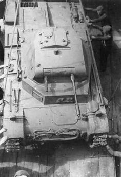Panzer II on railcar
