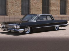 """1963 Chevy Bel Air, my first car. Mine had a white soft top and turquoise interior. Named it """"the beast"""""""