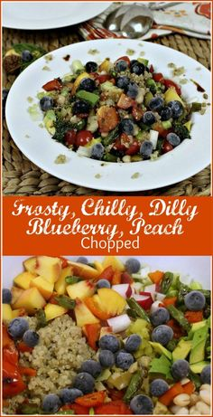 Frosty,  Chilly,  Dilly,  Blueberry,  Peach  Chopped The Kitchen Chopper