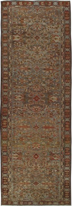 Antique Bakhtiari Gallery Carpet, No.23613 - Galerie Shabab