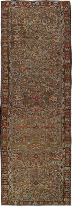 Antique Bakhtiari Gallery Carpet, No.23613 - Galerie Shabab