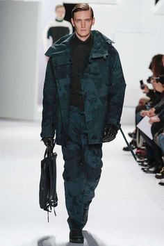 The Lacoste Fall/Winter 2013 Runway Shows Modern Utilitarianism #sports #style