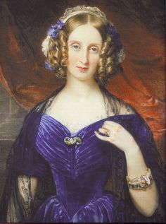 1846 Louise Marie of Belgium by Sir William Ross