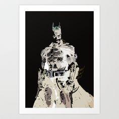 batman  Art Print by ReptileJunction - $13.52