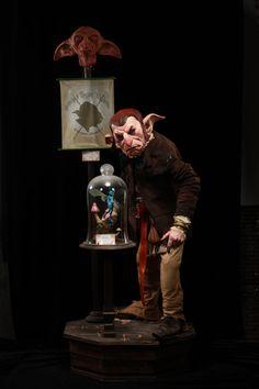 OOAK life sized Goblin Taxidermy  whimsical creature by hideousboi, $7500.00