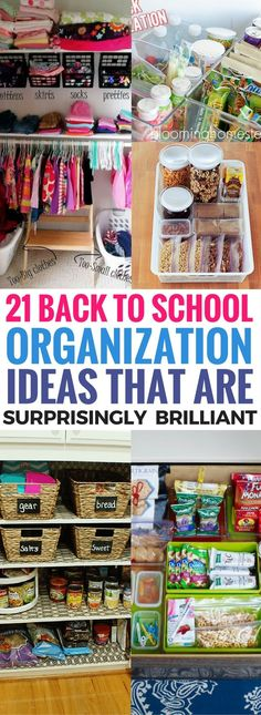 These back to school organization ideas are literally the BEST thing ever! Just love how these diy organization ideas are cheap and actually WORKS! Definitely pinning this for later!