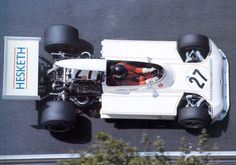 1973 James Hunt , Hesketh Racing, March 731 Ford