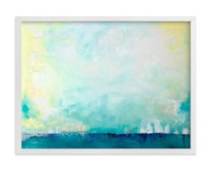 """DINING AREA  """"Sail"""" - Art Print by Julia Contacessi in beautiful frame options and a variety…"""