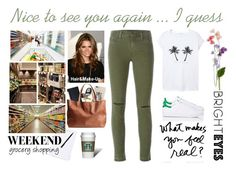 Nice to see you again ... I guess by cadylin on Polyvore featuring Mode, MANGO, J Brand, adidas, casual and skinnyjeans