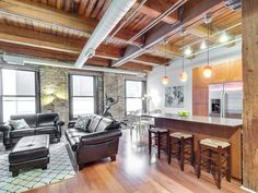 225 W. Huron | River North Lofts. River North may be known to house some of Chicago's most expensive condos for sale, there's also a WIDE range of more affordable options on the market that don't sacrifice appeal or desirability. Check 'em out now! #loftliving #rivernorth #industrialhistory #realestate #chicago