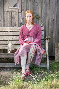 Gudrun Sjödén Leichte Naturstoffe für jede Frau! #naturmode #leggings #weste