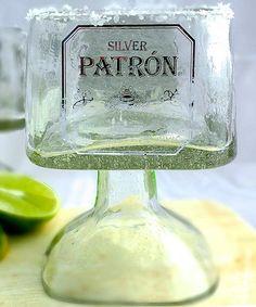 Loving this Patron Tequila Bottle Margarita Drinking Glass on #zulily! #zulilyfinds