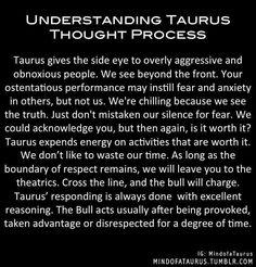Understanding Taurus  Thought Process Taurus, Periodic Table, Periodic Table Chart, Periotic Table, Ox