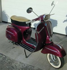 1968 vespa 180 ss | was ahead of my time. I painted the SS purple long before the old ...