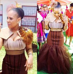 shweshwe dresses for a wedding 2017 African Wedding Theme, African Wedding Attire, African Attire, African Weddings, African Traditional Wedding Dress, Traditional Wedding Attire, Traditional Outfits, Traditional Weddings, African Print Dresses