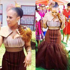 shweshwe dresses for a wedding 2017 African Traditional Wedding Dress, Traditional Wedding Attire, Traditional Outfits, Traditional Weddings, African Wedding Theme, African Wedding Attire, African Attire, African Weddings, African Print Dresses