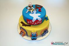Bob de Bouwer Taart * Bob the Builder Cake