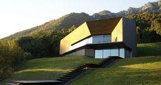 CBA Camillo Botticini Architect Have Designed Alps Villa, A Home Located In  Brescia, Italy. Alps Villa In Brescia By CBA Camillo Botticini Architect The
