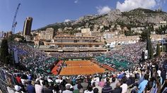 Picturesque Monte Carlo Country Club.   #tennis