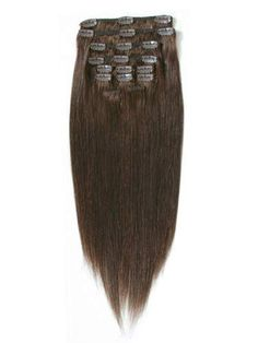 I Clip in Straight Hair (CHOCOLATE BROWN)