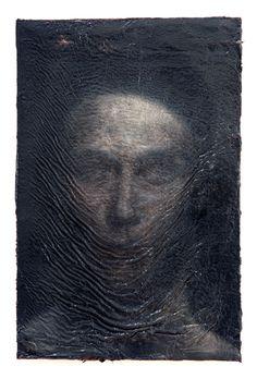 S.G. - Nicola Samori, 2011, oil on wood, 29 x 19 cm