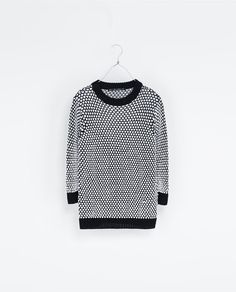 Image 7 of TWO-TONE SWEATER from Zara