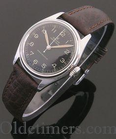 1940s steel vintage Rolex Oyster watch (3553)