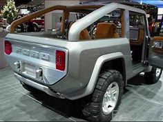 Gallery for Ford Bronco 2016 Interior - image Ford Expedition, Ford Bronco Concept, New Bronco, Classic Bronco, Rustic French Country, Detroit Auto Show, Interior Wallpaper, Ford Pickup Trucks, Broncos