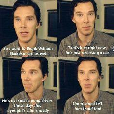 Benedict accepts his WhatsOnStage Award for Hamlet on of February, ° ° ° ° ° ° Tom Hiddleston Benedict Cumberbatch, Benedict Cumberbatch Sherlock, Funny People, Good People, Freeman Actor, Actors Funny, Benedict And Martin, Baker Street, Martin Freeman