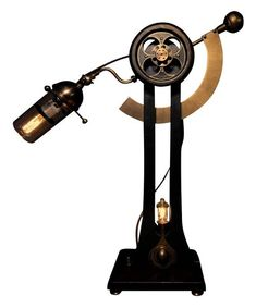 Steampunk Industrial Lamp Sultan Jack by Donovan Design on HomePortfolio