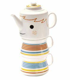 Pinocchio Tea for Two Set. No fibbing!