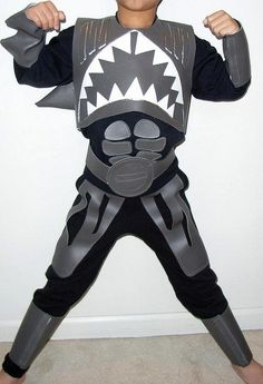 Shark Boy Halloween Costume