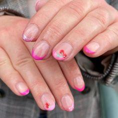 May 7th, Natural Nails, Nail Inspo, Claws, Lush, Nail Art, Candy, French, Fruit