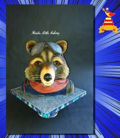 Marvel Fan, Marvel Comics, Rocket Raccoon, Comic Strips, Collaboration, Presents, Comic Books, Cake, Artist