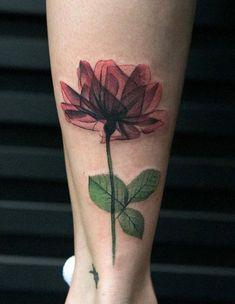 Tatouage hibiscus tatouage temporaire fleur signe géométrique