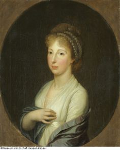 Wilhelm Böttner, Kat.Nr.19 1798, Marie Friederike Fürstin von Anhalt-Bernburg