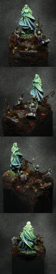 CoolMiniOrNot - Queen of the Dead by Landreth